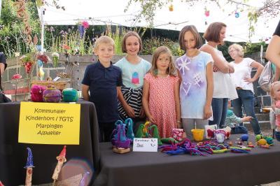 Foto zur Meldung: 1.Kunst-  und Handwerkermarkt der Gemeinde Marpingen…