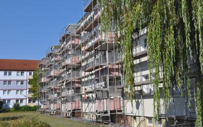 Vorschaubild zur Meldung: Fassade in Schipkau wird Hingucker