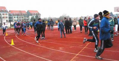 Foto zur Meldung: 2. Lauf - Paarlaufserie 2002/03