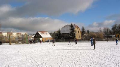 Foto zur Meldung: Erste Kreisrekorde bei der Wintermeisterschaft Wurf des LV Neißekreis