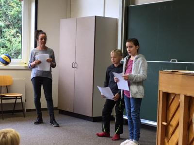 Foto zur Meldung: Schülerversammlung