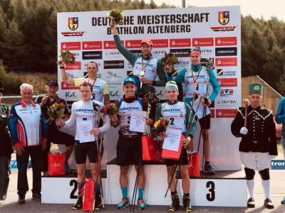 Foto zur Meldung: Deutsche Meisterschaften Biathlon Altenberg