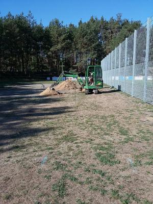 Vorschaubild zur Meldung: Bau eines Minispielfeldes in Walddrehna beginnt