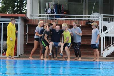 Foto zur Meldung: Besucherrekord im Schwimmbad Waldeck