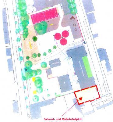 Vorschaubild zur Meldung: Erweiterung der Fontaneschule beginnt mit Umbau der Fahrradparkplätze im Oktober