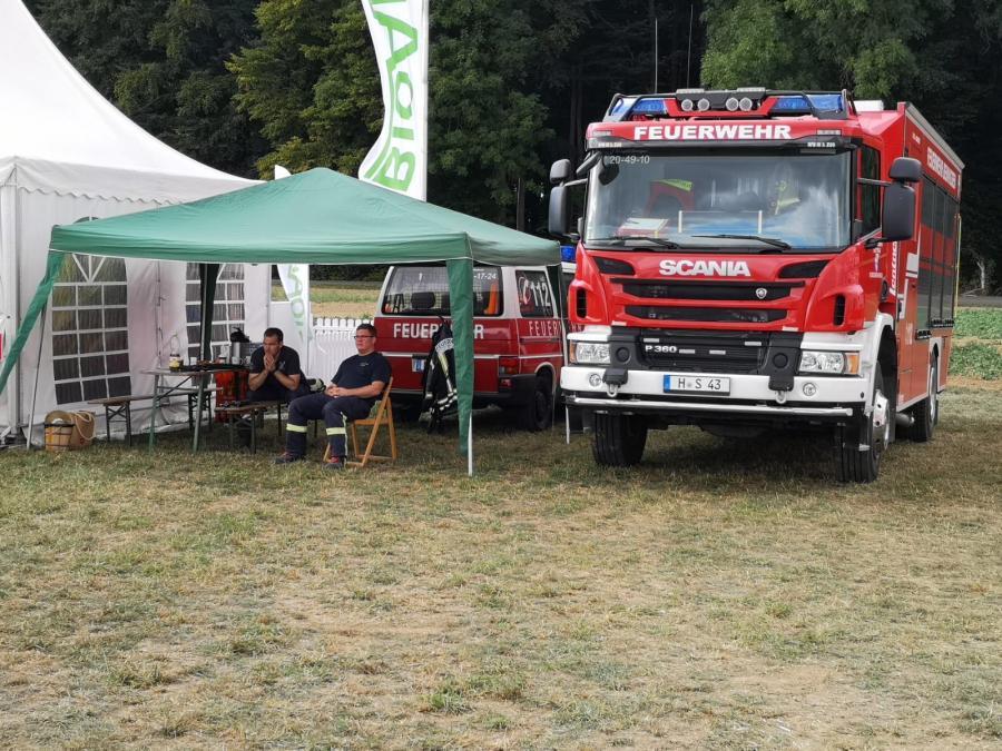 Bild der Meldung: Brandsicherheitswachdienst PotatoEurope