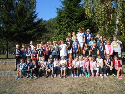 Foto zur Meldung: Schulherbstcrosslauf im Waldstadion Bad Wilsnack