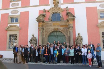 Foto zur Meldung: Von der diesjährigen Bildungsfahrt in die Oberpfalz waren alle beeindruckt
