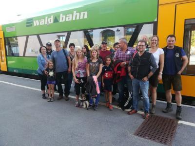 Foto zur Meldung: Herbstwanderung im Nationalpark Bayerischen Wald