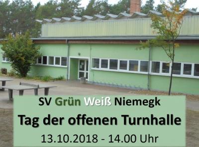 Vorschaubild zur Meldung: SV Grün Weiß Niemegk e.V. live zu erleben, in seiner Vielfalt!