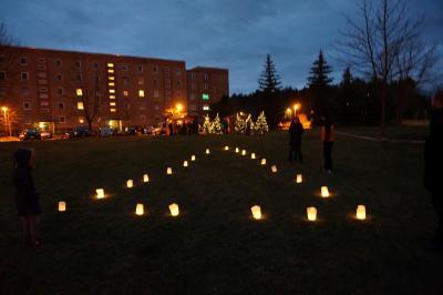 Foto zur Meldung: 18.12. Adventlichterfest - Neues von der Quartiersmanagerin