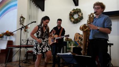 Marion Fiedler und Band