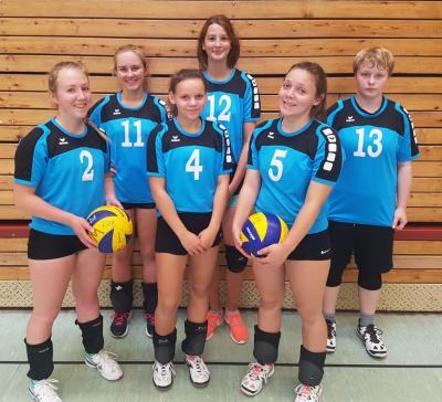 Foto zur Meldung: Volleyball - Jugend u20w Spieltag