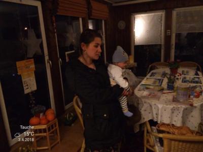 Foto zur Meldung: Obdachlose Familie im Heimatverein SOFA aufgenommen