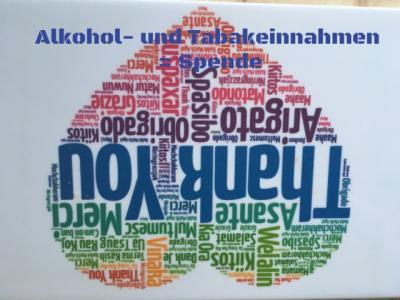 Foto zur Meldung: Alkohol- und Tabakeinnahmen in EURO (oder jeder anderen Währung) = Spende mit Anrechnung auf SOS Zeitkarte