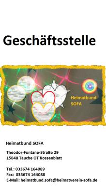 Foto zur Meldung: Eröffnung 1. Geschäftsstelle Heimatbund SOFA