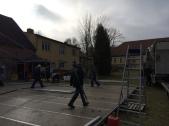 Foto zur Meldung: Heimatverein SOFA arbeitet auf Gutshof mit SOFA Zeitkarte
