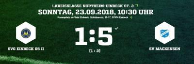 Vorschaubild zur Meldung: Fußball: 1. Mannschaft siegt souverän in Einbeck