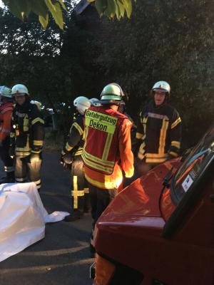 Foto zur Meldung: Gefahrgutdienst Mittelrode 2018
