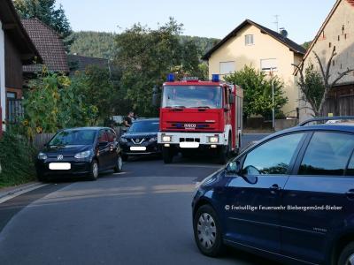Foto zur Meldung: Ordnungsamt und Feuerwehr machen Kontrollfahrt