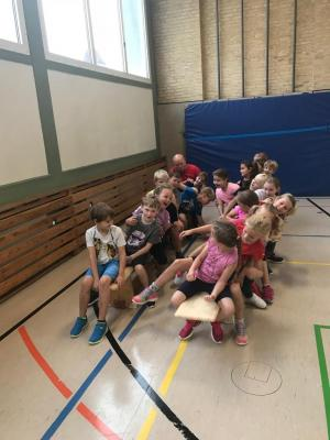 Foto zur Meldung: Handball-Aktionstag