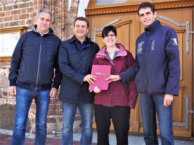Foto zur Meldung: Besuch in der St. Johannes Kirche Neukalen