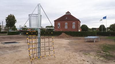 Foto zu Meldung: Spielplatz entsteht auf Koesters Eck