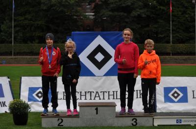 Vorschaubild zur Meldung: Leichtathleten mit tollen Leistungen in Hamburg