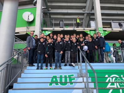 Díe U 14 in Wolfsburg
