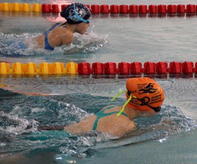 Foto zur Meldung: Schwimmen Bezirks-sprintmeisterschaften in Riesa
