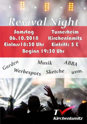 Vorschaubild zur Meldung: TVK Revival Night am 06.10.2108