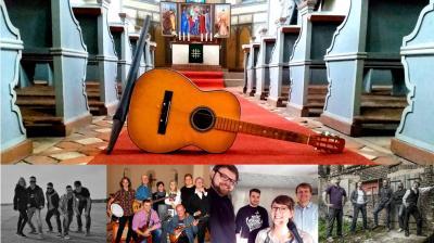 Vorschaubild zur Meldung: Akustik-Rock-Festival am 14.10.18 in der Niemegker Johanniskirche