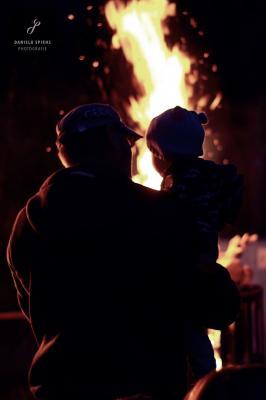 Foto zur Meldung: Herbstfeuer in Sülte