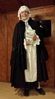 Vorschaubild zur Meldung: Bildervortrag von GISELA LAUDI über ihren historischen Roman