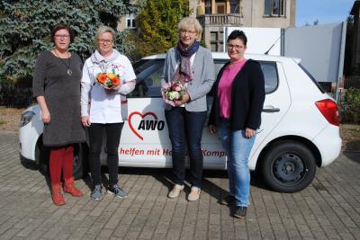 Vorschaubild zur Meldung: erfolgreicher Abschluss der berufsbegleitenden Ausbildung in der AWO Sozialstation in Wittenberge