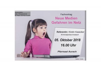 """Foto zur Meldung: Fachvortrag """"Neue Medien/Gefahren im Netz"""""""