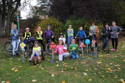 Vorschaubild zur Meldung: Erfolgreiches Fahrradprojekt im AWO Hort Regenbogen in Perleberg