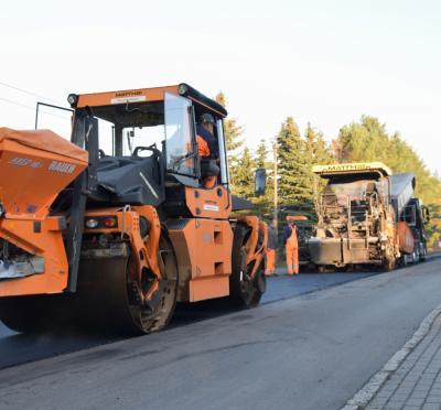 Vorschaubild zur Meldung: Straßenbauarbeiten in Schipkau