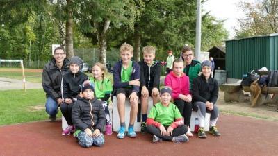 Vorschaubild zur Meldung: Leichtathletikkinder bei Sportfest in Passau