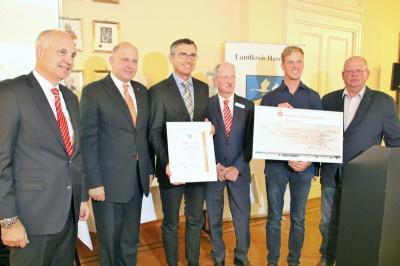 Wirtschaftsförderpreis 2018 an BLT Landtechnik (Quelle: LK HVL/Presse)