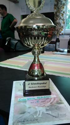 Foto zur Meldung: Kegler gewinnen Rosenpokal 2018 in Buckow