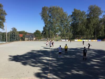 Foto zur Meldung: Männer mit Auswärtssieg, A-Jugend sichert einen Punkt, E- und F-Junioren gewinnen