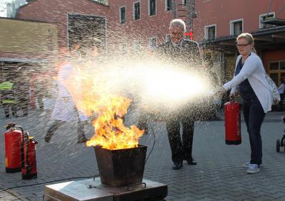 Vorschaubild zur Meldung: Tag der offenen Türe in der Rosenheimer Hauptfeuerwache