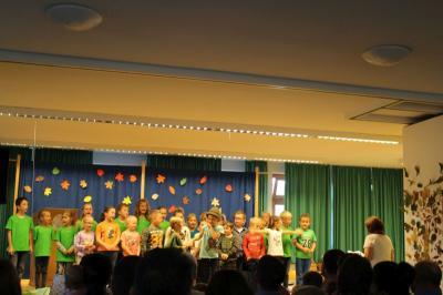Foto zur Meldung: Das Herbstfest in der Grundschule war ein toller Erfolg