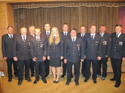 Vorschaubild zur Meldung: Hauptversammlung der Freiwilligen Feuerwehr Bühlertann am 13.10.2018