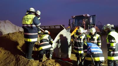 Vorschaubild zur Meldung: Herbstübung bei der Feuerwehr Pang
