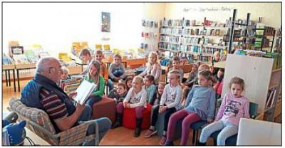 Foto zur Meldung: Erstklässler werden zu Bücherwürmern