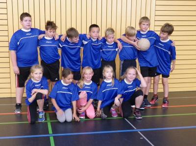 Vorschaubild zur Meldung: 6. Platz im Regionalfinale Zweifelderball der Klassen 3/4