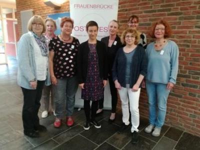 Vorstandsfrauen freuten sich über den Besuch der neuen Schirmfrau Ska Keller