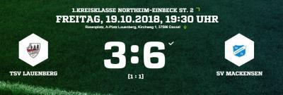 Vorschaubild zur Meldung: Fußball: Vier Punkte aus zwei Derbys für den SV Mackensen